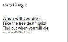 wierd google ad