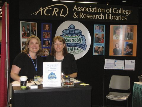 acrl booth at ala 2008