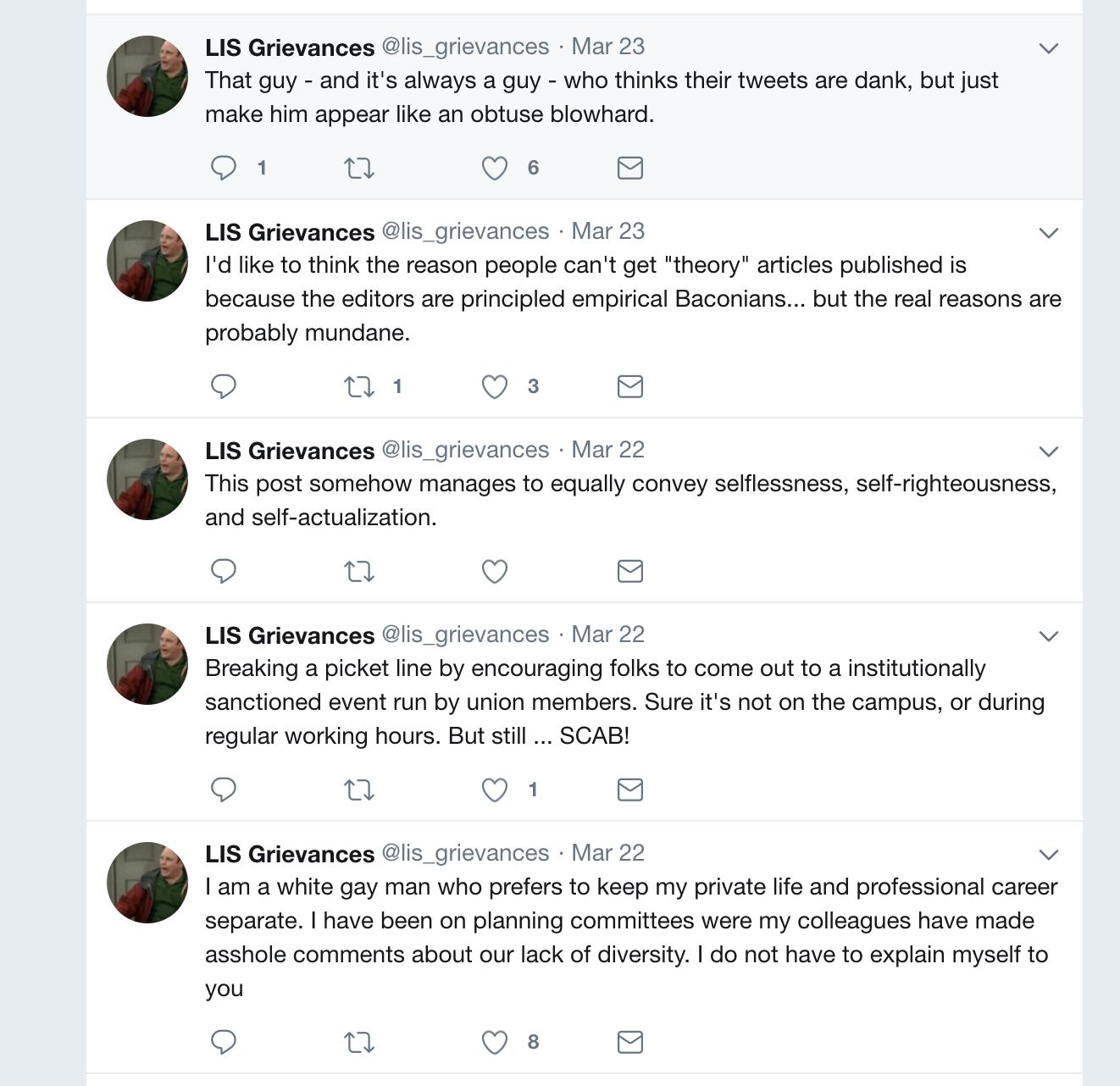 LIS_Grievances Twitter