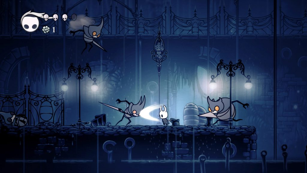 Screenshot from the gameplay of Hollow Knight